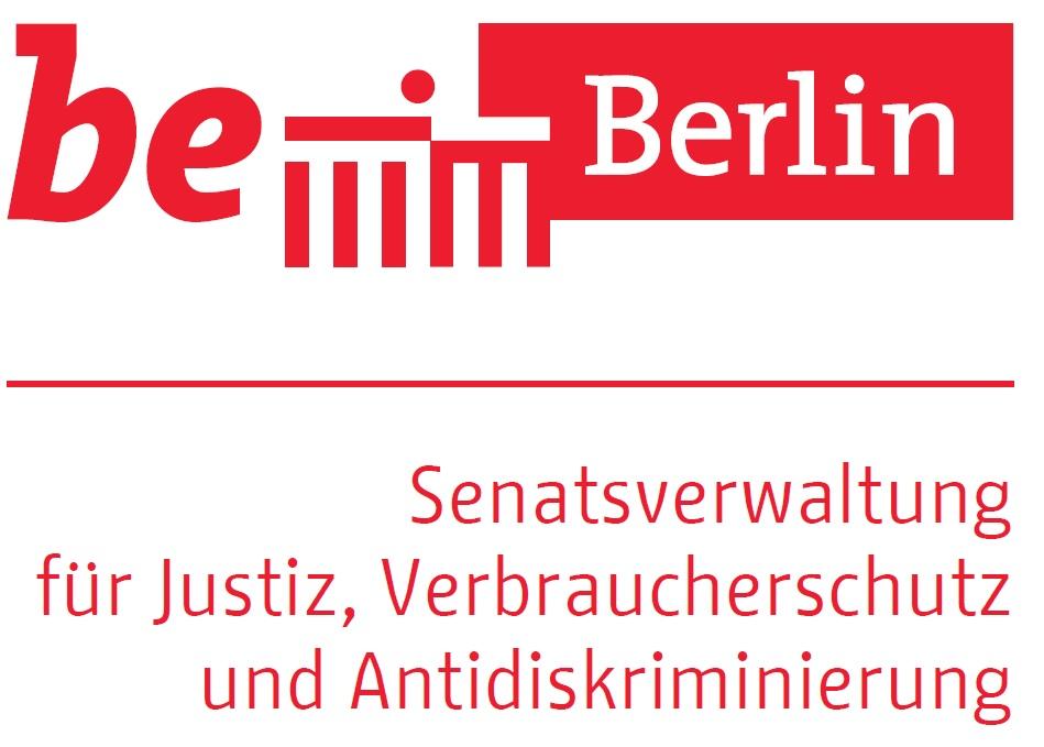 Logo Senatsverwaltung für Justiz, Verbraucherschutz und Antidiskriminierung Berlin
